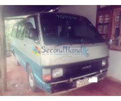 Toyota Hiace shell van