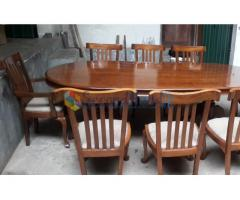 Solid Teak  Dining Table