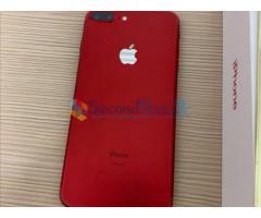 Original iphone 7 plus 128gb red limited edition