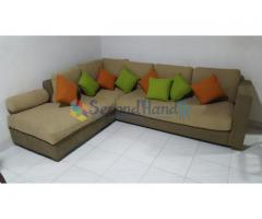 Modern L-Shape Sofa Set for Sale