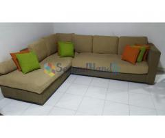 Modern L-Shape Sofa Set for Sale