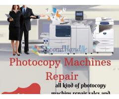 Photocopy machines repair
