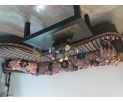 Damro corner sofa