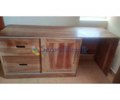 Study Cupboard and side table for sale