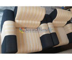 3 + 1 + 1 Cushion sofa set