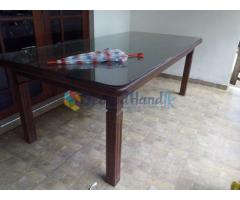 Teak wood Dinning Table Set