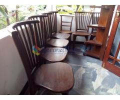 Teak wood Dinning Table Set