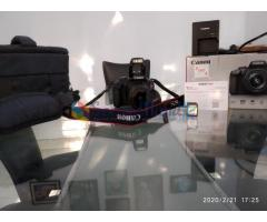 CANON EOS4000D Dslr camers with more items