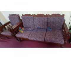 Mahogany sofa set for sale