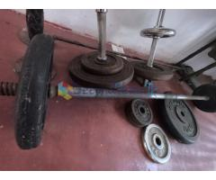 Barbell bar,Two dumbbell bar,52.5kg weight plates