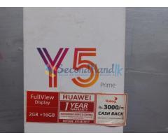 Huawei Y5 Prime 2018 - 1year used