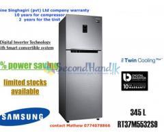 SAMSUNG 345L 2 Door Refrigerator Model Number RT37M5532S9
