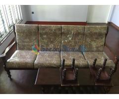 4 seater sofa and 2 single seater sofa for sale