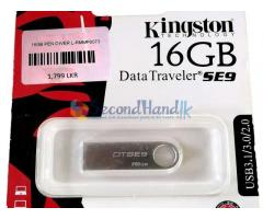 16 GB PEN DRIVE DATA TRAVELER (Premium Quality) from KINGSTON TECHNOLOGY