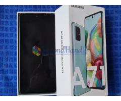 Galaxy A71 with buds