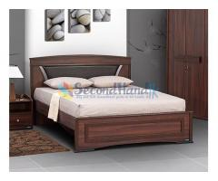 Feori Bed with Damro Triple Layer Quilted COV Mattress