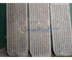 Corrugated asbestos sheets  in various sizes