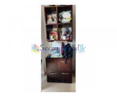 MAHAGONI 3 SETS DRAWERS,DRESSING TABLE AND BOOK SHELF