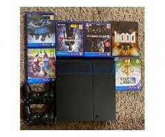 Playstation 4 and games for quick sale