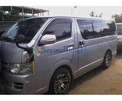 KDH van for sell.