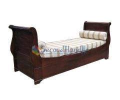 Sleigh Day Bed - Nearly New Furniture