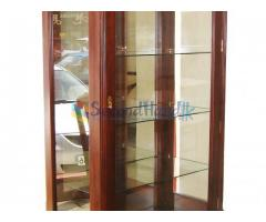 Barlow Glass Cabinet - Nearly New Funiture