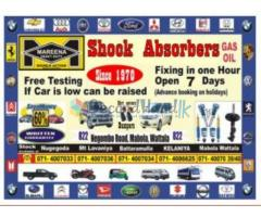 Shock absorber & strut available for all make and models for less than 60 %