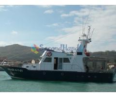Steel boat 16' (motor)