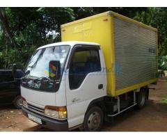 isuzu aluminium body lorry for sale