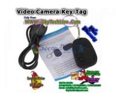 Spy camera Key tag - High Quality - brand new - Rs. 1350/= with warranty