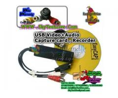 USB Video - Audio capture card. To Record Video to Computer . Rs. 1450/=