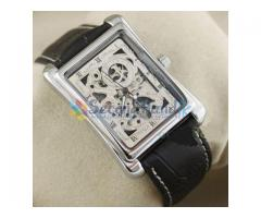 SKELETON AUTOMATIC MECHANICAL WRIST WATCH-barand new