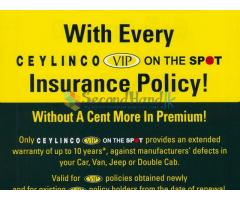 CEYLINCO VIP ON THE SPOT !  10 Year Warranty For your Vehicle !