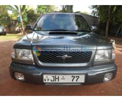 Subaru Forester S/tb 2001