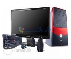 Dual Core 2.8GHZ ( Intel Pentium D ) Full Set Computer