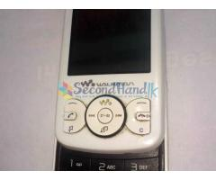 Sony ericsson W100i