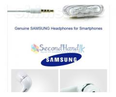 samsung and apple 5s original handfrees and many more accesories