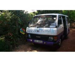 Van for Hire with Driver