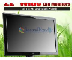 22 LCD Monitors