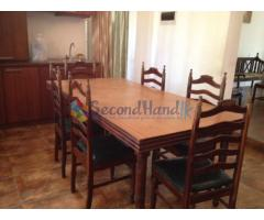Dining Table & Sofa set