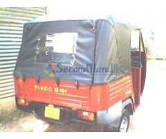 piaggio diesel three wheel for sale minuwangoda