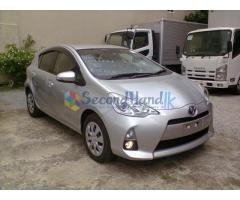 Toyota Aqua - 2013 UNREGITERED