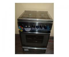 Elba cooker with oven