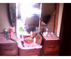 Three Mirrored Dressing Table