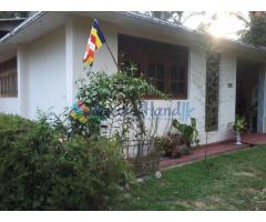 House with Land - Kandy - Amunugama for immediate sale