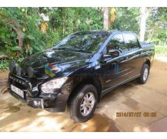 Actyon Sports 2009 Double Cab for sale