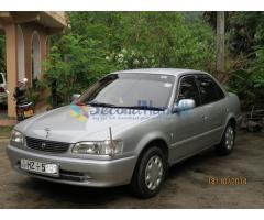 Toyota Corolla  AE 110 SE Saloon  'L' grade