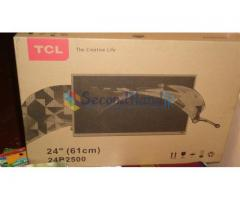 Brand New(never used-unpack) TCL LED TV(24