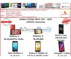 ASUS PHONES TAB