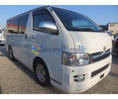 KDH vans For hire